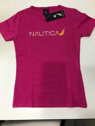 Camiseta niña Marca Nautica Talla S Nueva!!
