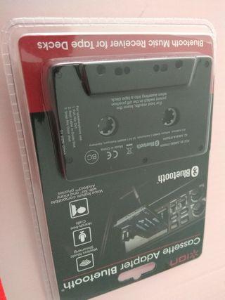 Adaptador de cassette a bluetooth