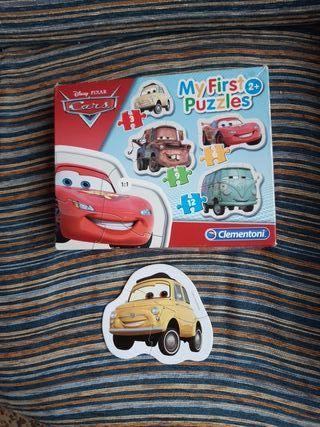 Puzzle infantil película Cars