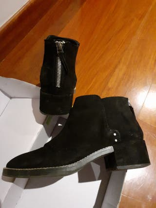 Botines color negro Pull&Bear