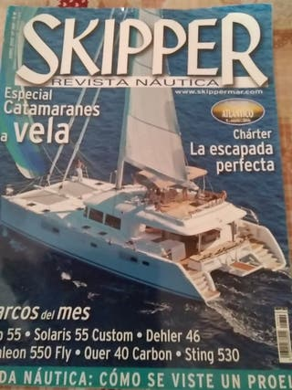 Revista náutica skipper catamaranes