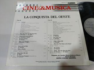 La Conquista del Oeste 1987 Banda Sonora LP Vinilo