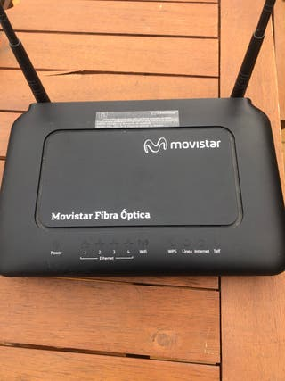 Router fibra optica Movistar