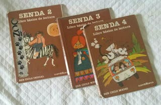 Libros lectura SENDA. Santillana -1984-