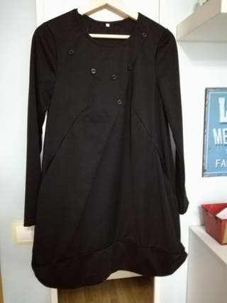 Vestido negro. Talla M. Mujer.