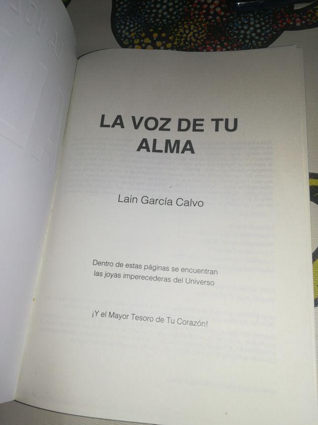 libro LA VOZ DE TU ALMA
