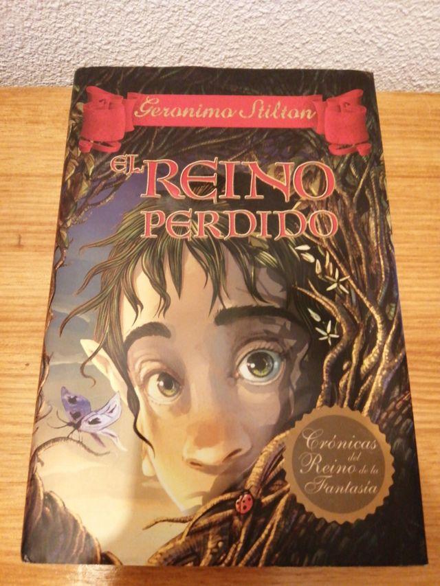 """LIBRO """"EL REINO PERDIDO"""" (GERONIMO STILTON)"""