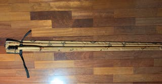 Caña de pesca a mosca Orvis bambú