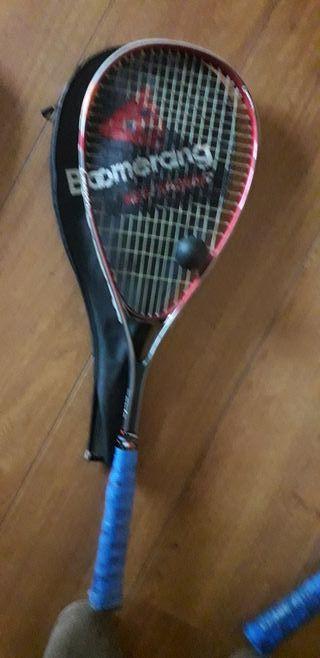 raqueta squas
