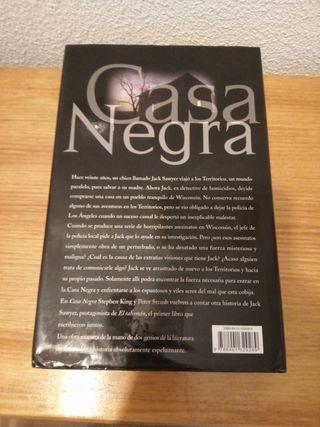 """LIBRO """"CASA NEGRA"""" (STEPHEN KING)"""
