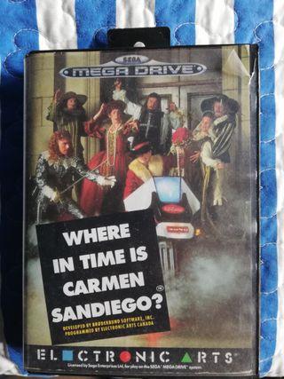 Carmen San Diego Mega Drive Sin Manual