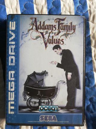 Addams Family Values Mega Drive Sin Manual