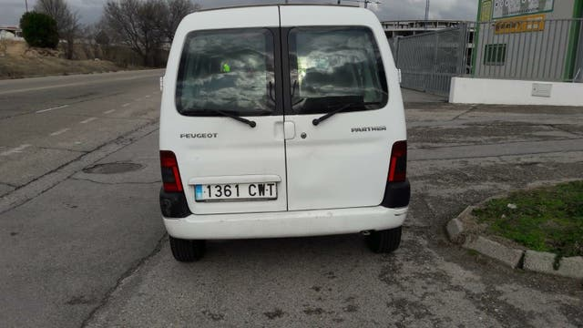 Peugeot Partner 2004 transferiada incluida