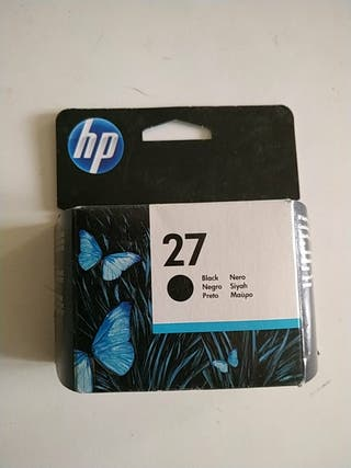 Cartuchos originales HP 27