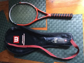 Raqueta Tenis marca Wilson , modelo Hyper Hammer