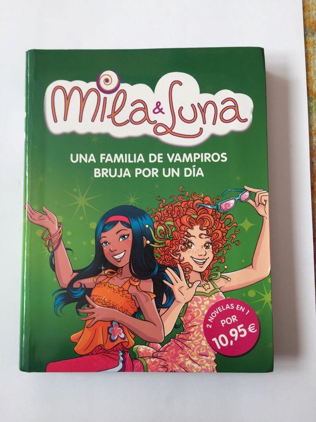 Libro Mila y Luna