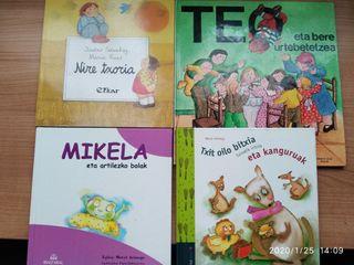 LIBROS INFANTILES en EUSKERA