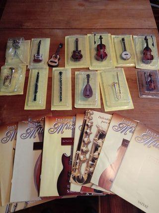 INSTRUMENTOS MUSICALES MINIATURA