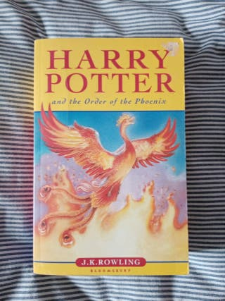 libro de Harry Potter and the order of the phoenix