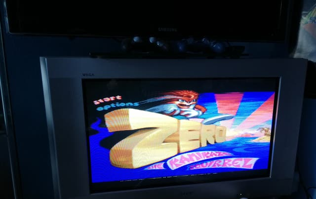 Zero Kamikaze Squirriel Mega Drive Sin Manual