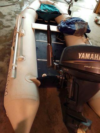 bombard 335 + Yamaha 13,5 4 tiempos