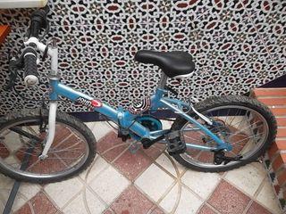 bici niño plegable unisex bicibleta