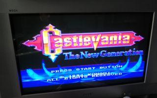 Castelvania The New Generation Mega Drive Completo