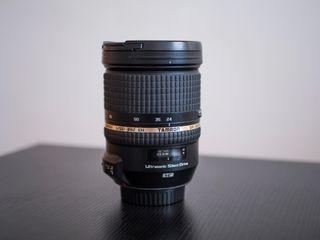 Objetivo Tamron 24-70 2.8 para Canon