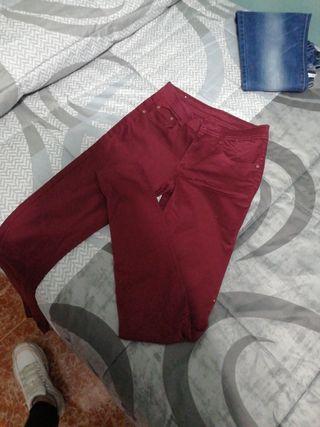 pantalón granate 36