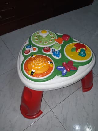 mesa de actividades chicco bilingüe