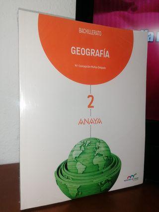 libro geografía 2 bachillerato