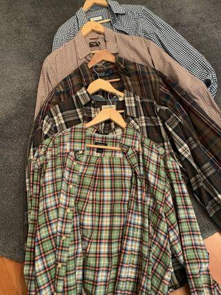 Lote 5 camisas L/XL