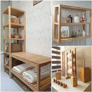 Conjunto de baño (muebles y accesorios)