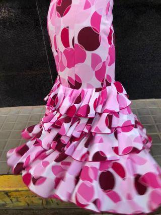 Falda de flamenca talla 34