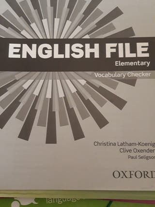 english file elementary vocabulary checker
