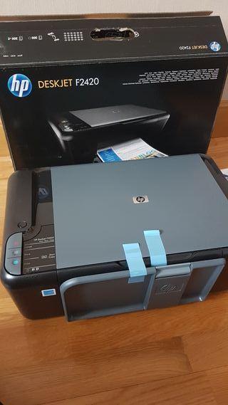impresora hp a estrenar