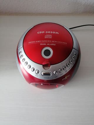 Reproductor CD/MP3 portable