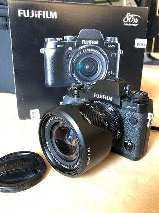 Camara kit Fujifilm XT1 cuerpo + objetivo 18-55mm