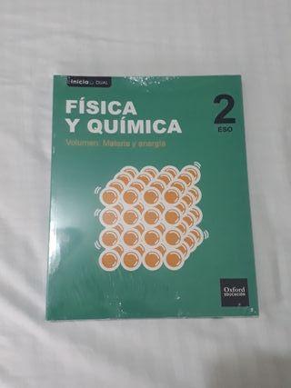 paquete 3 libros de fisica y quimica ...2 eso