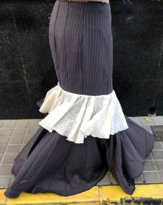 Falda de flamenca talla 38
