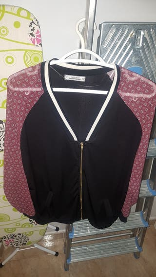 chaqueta mujer pull and bear