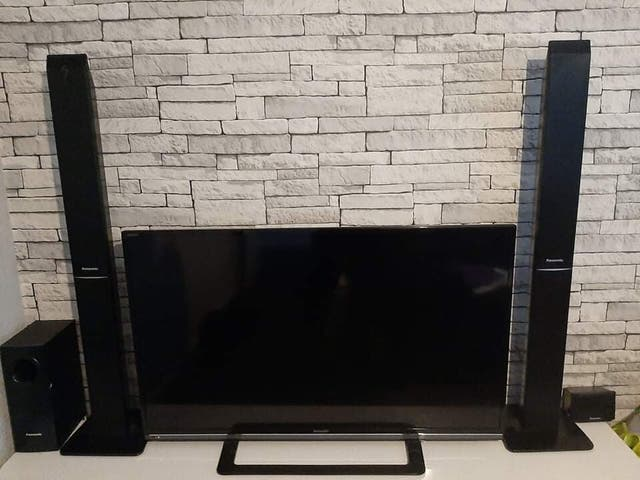 Panasonic 5.1 DVD home theatre system