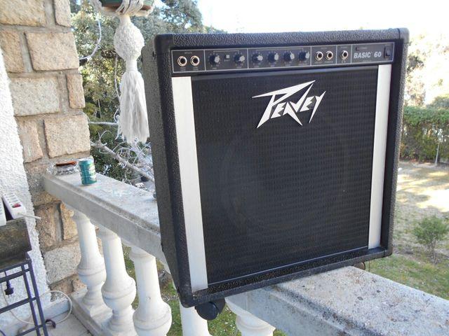 Amplificador de guitarra peyvey md-Basic-60