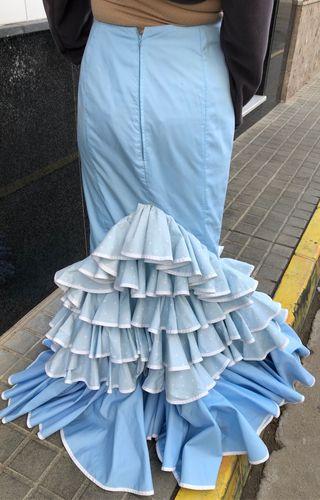 Falda de flamenca talla 36