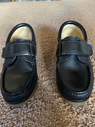 Zapatos Tipo Náutico Gorila Azul