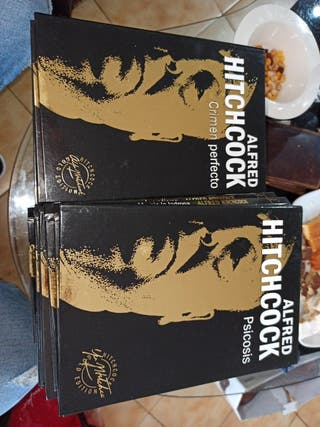 colección Alfred hitchcock gold edition digibook
