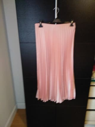 falda plisada de zara
