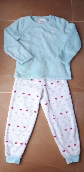 Pijama invierno niña