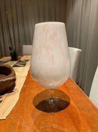 Copa cristal grande rosada