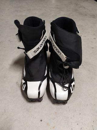 botas de esquí de fondo salomon